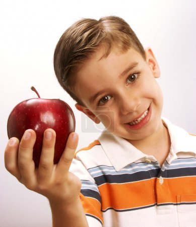 Apple kid.