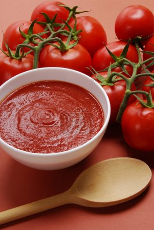 Photo for Tomato sauce - Royalty Free Image