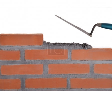 Building bricks wall