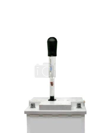 Measurement of density of electrolyte