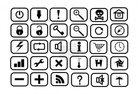 Set of icons for WEB