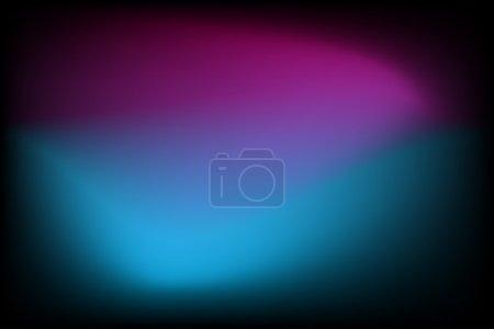 Illustration pour Fond gradient lumineux abstrait avec bleu et violet - Illustration vectorielle - image libre de droit