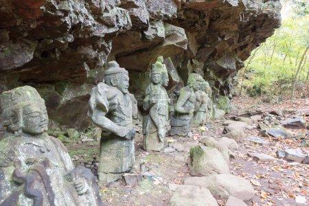 Hotoke-Iwa at Rinnoji Temple,Nikko,Japan