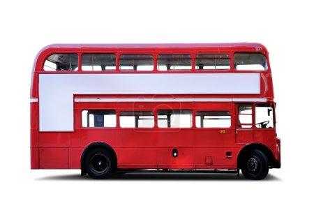 Photo pour Bus principal de route double decker - image libre de droit
