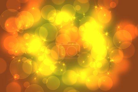 Photo pour Cercles lumineux abstraits sur un fond coloré - image libre de droit
