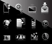 Black & White Icon set