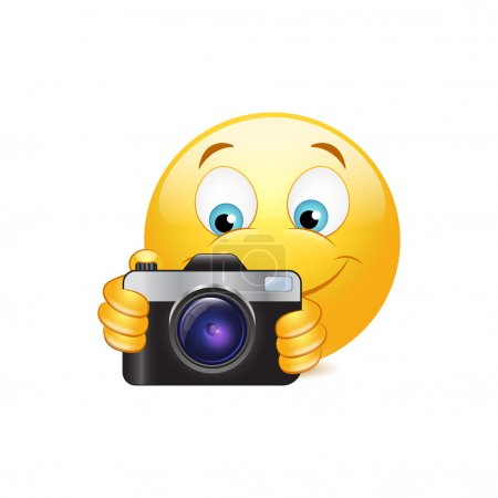 Camera emoticon