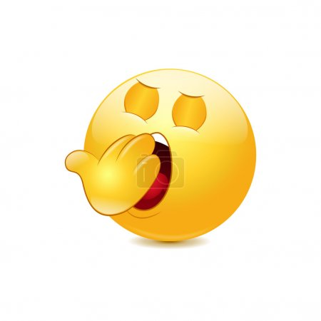 Yawn emoticon