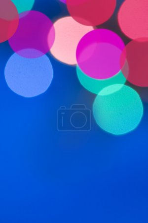 Blur lights, defocused background