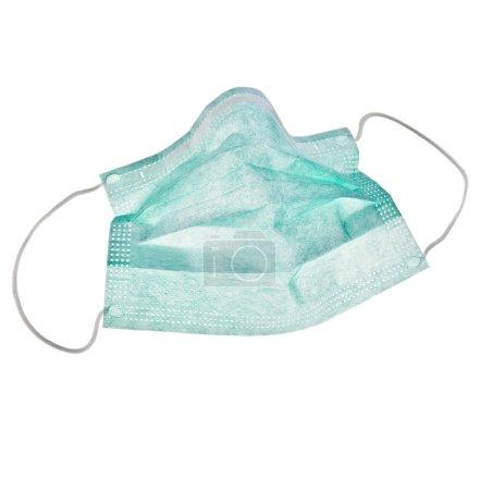 Photo for Medical protective shielding bandage on white background - Royalty Free Image