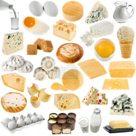 Collection of dairy produce