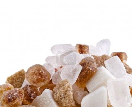 Photo for Sugar isolated - Royalty Free Image
