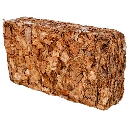 One Block of Coconut Coir Husk Fiber Chips