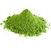 Powdered green powder hill