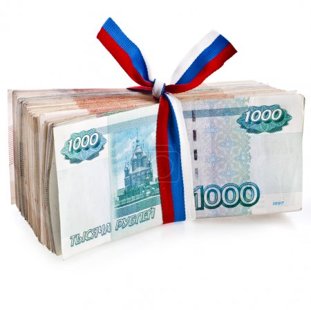One Million Banknotes Rubles