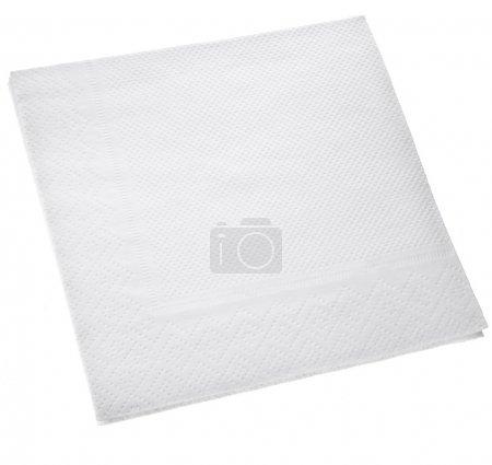 White Square paper napkin