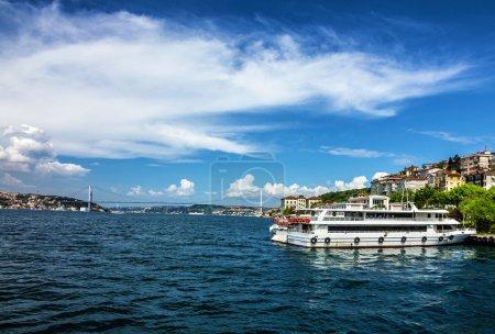 Istanbul Bosporus seafront, Turkey