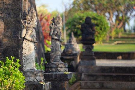 Hindu sculptures in temple