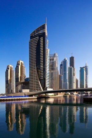 A view of Dubai Marina and JBR