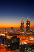 Another set of twins, this time in Dubai…overlook Skeikh Zayed Road on one side and Palm Jumeirah on the other