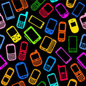 Smartphones and Cellphones seamless pattern