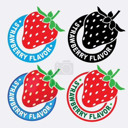 Strawberry Flavor Seal / Mark