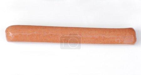 Jumbo uncooked hotdog weiner