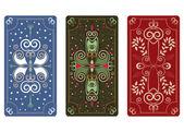 Vector ornament for Tarot cards