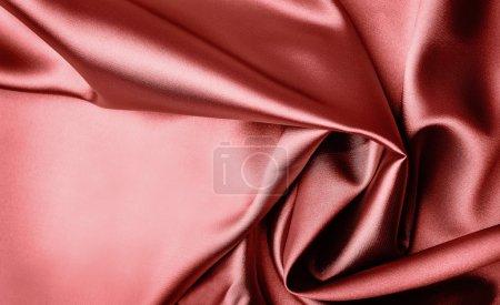 Foto de Fondo satinado rojo elegante suave - Imagen libre de derechos