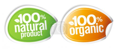 100 percents natural product, 100 percents organic...