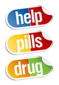 Pills stickers