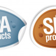 SPA products stickers set....