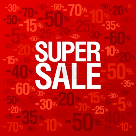 Store sale background.