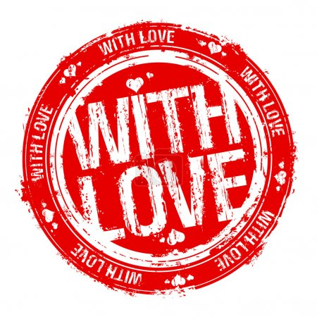 With love stamp.