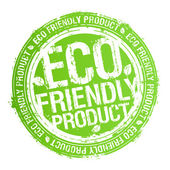 Eco friendly product stamp