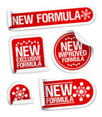 New Formula stickers