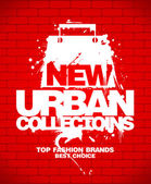 New urban collections design template