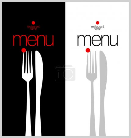 Illustration pour Modèle de carte de menu restaurant . - image libre de droit