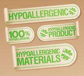Hypoalergenní produkty samolepky