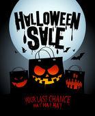 Halloween sale design