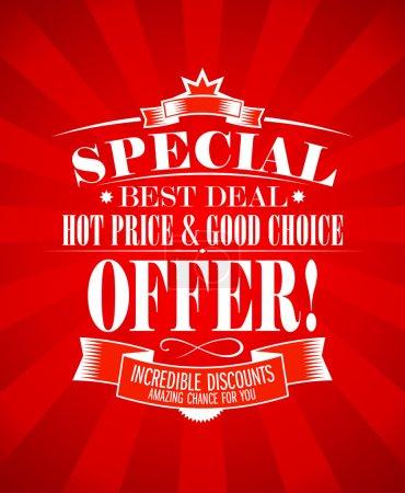 Best deal design template.