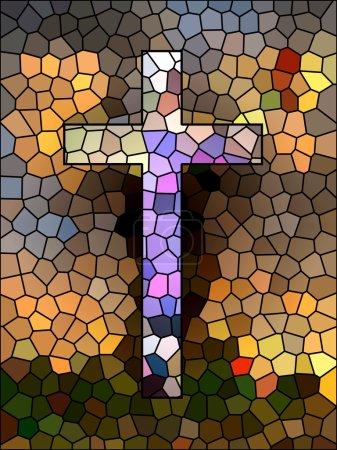 Photo for Faith symbol. Cross. - Royalty Free Image