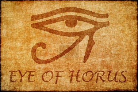 Photo pour Œil d'Horus - image libre de droit