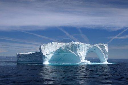 Iceberg off the coast of Greenland, Atlantic Ocean.