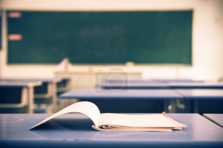 Photo for Empty school classroom - Royalty Free Image