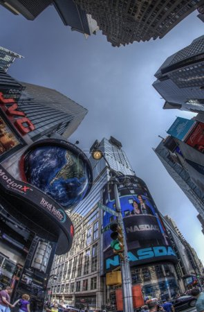 Photo for Famous Times Square, New York City, USA - Royalty Free Image