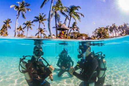 Photo pour Plongée sous-marine - image libre de droit