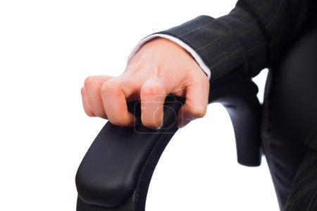 Photo pour Concept de patron en colère, insatisfait, frustré, violent - image libre de droit