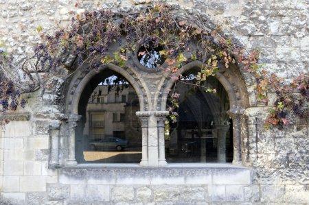 Mullioned window
