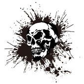 Skull and paint